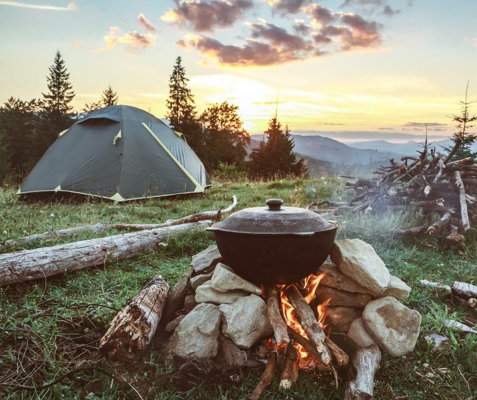 bringing nature back into camping