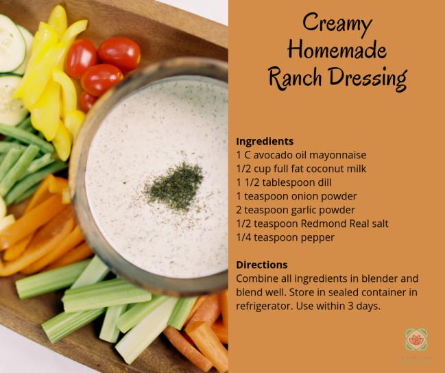 Creamy Ranch Dressing