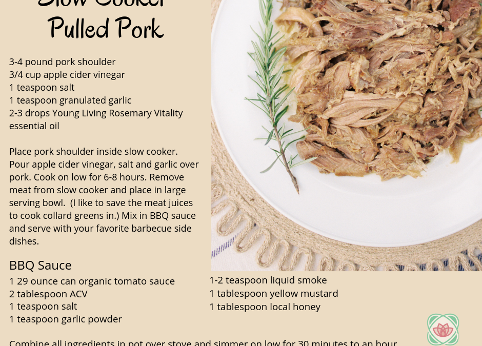 The perfect Summer finale recipe: Pulled Pork