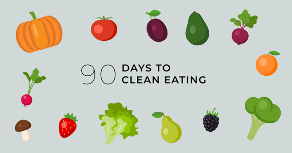 90 Days to Clean Eating Facebook Live